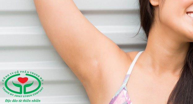 Thận trọng khi sử dụng chất chống mồ hôi cho vùng da quanh nách